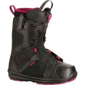 Buty snowboard Salomon SCARLET Black / Mystic Purple / Black