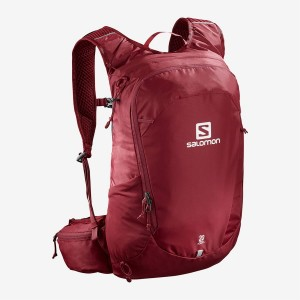 Plecak Trekkingowy Salomon TRAILBLAZER 20 - RED CHILI