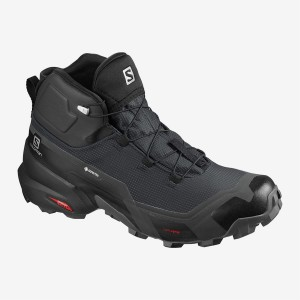 Buty Męskie Trekkingowe Salomon CROSS HIKE MID GTX - Black