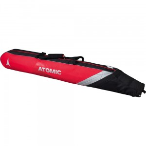 Pokrowiec na narty ATOMIC DOUBLE SKI BAG PADDED Red